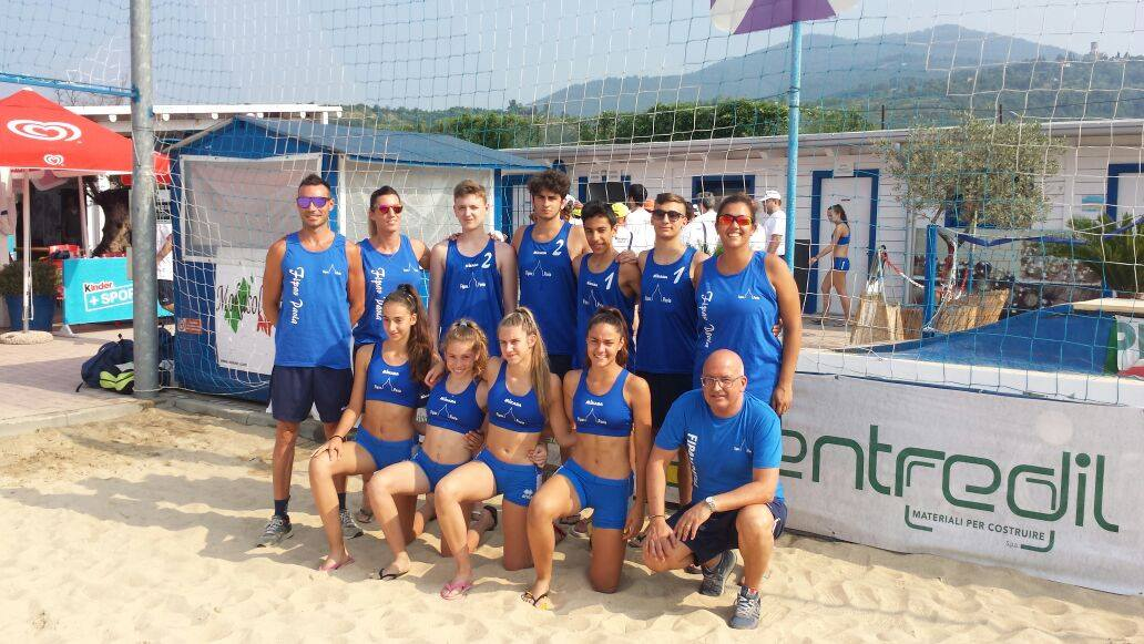 Kinderiadi di beach volley di Cellatica - Cronaca